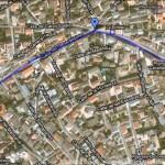 Paradas en Plaza España, San Blas y Glorieta de entrada
