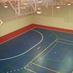 Interior Pabellón Polideportivo de Recas