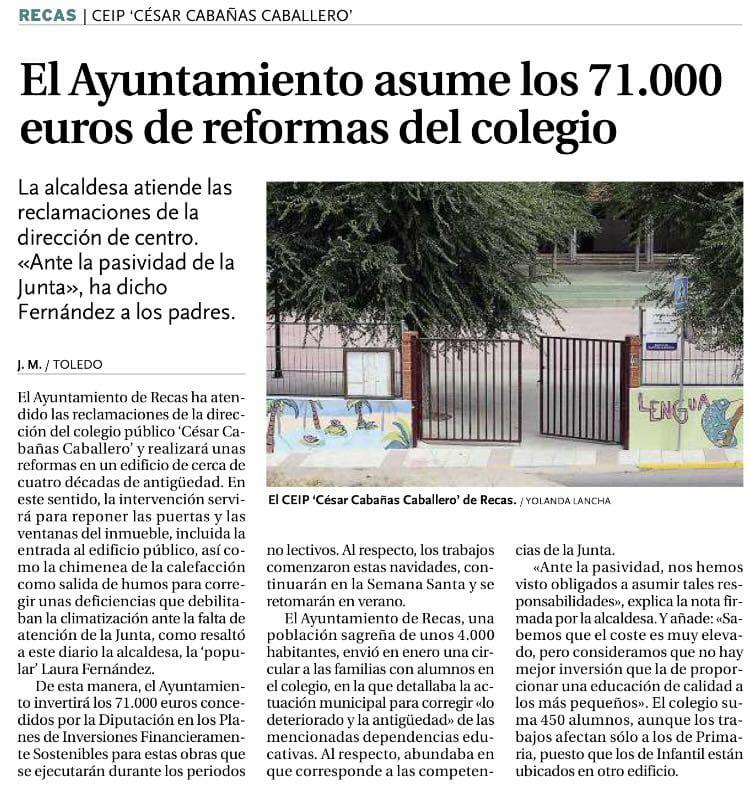 Reforma Colegio