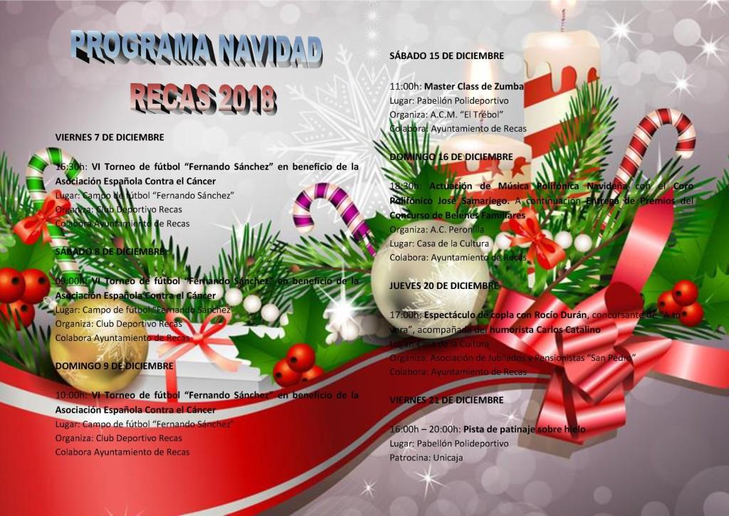 Programa de Navidad Recas Parte 1