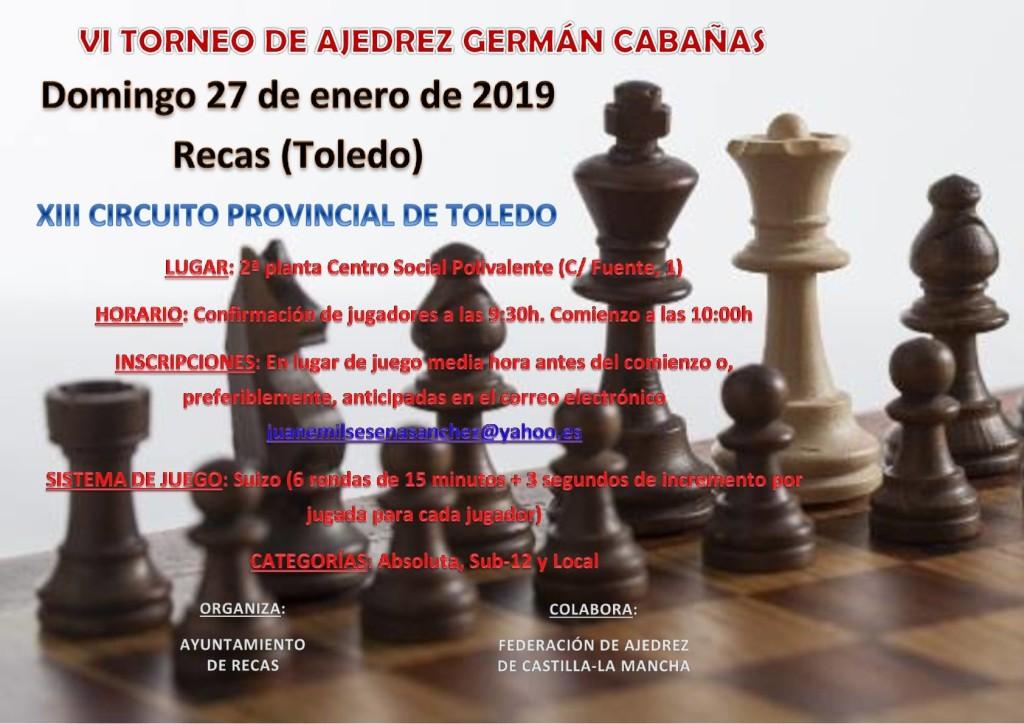 Ajedrez Germán Cabañas