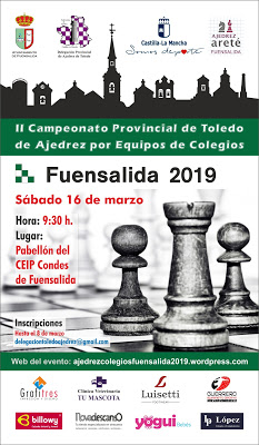 II Campeonato Provincial Ajedrez de Colegios S-12 - Fuensalida