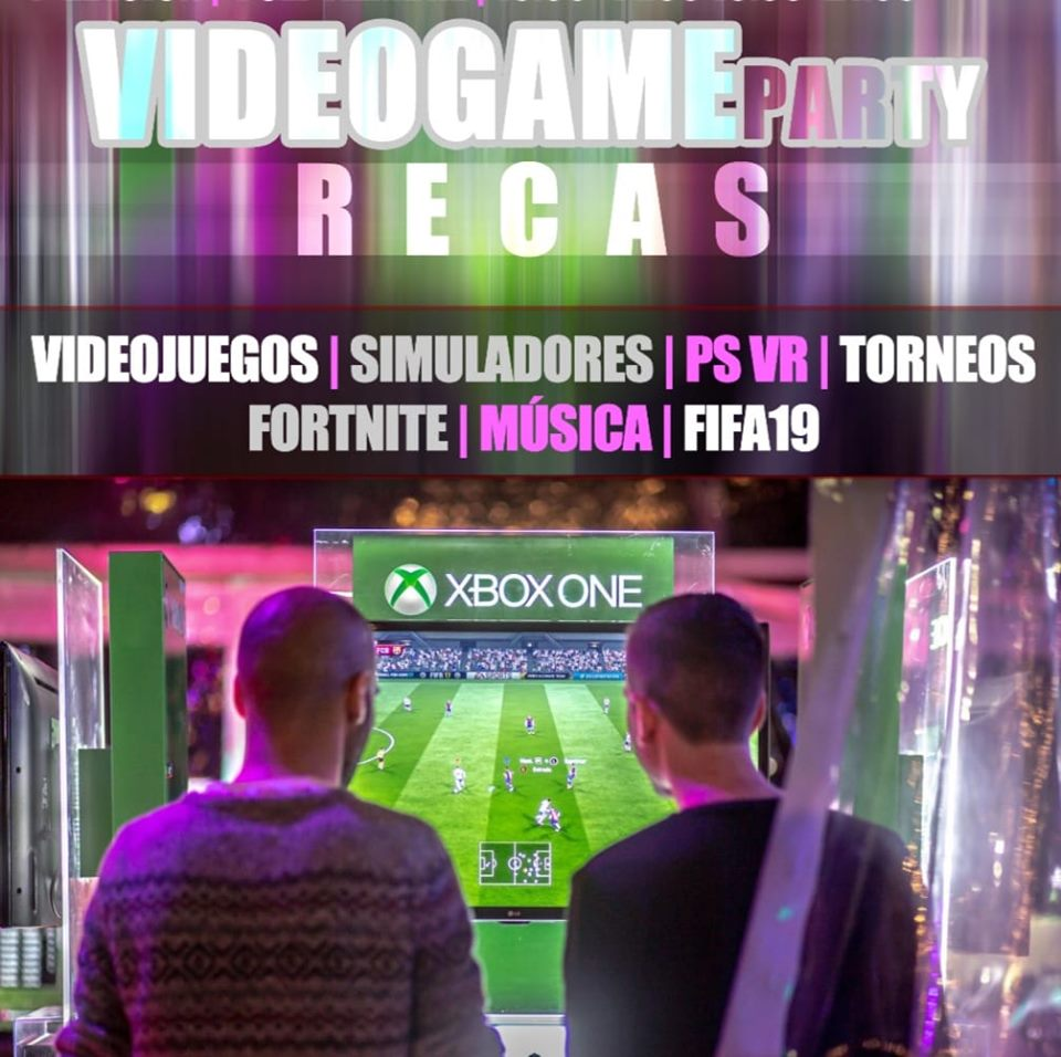 Videogame party